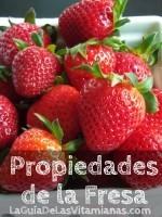 Las propiedades de la fresa