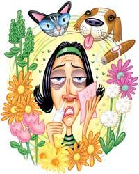 Para qué sirve la loratadina, inhibe la histamina | La Guía de las Vitaminas
