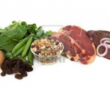 Alimentos ricos en hierro para la dieta sana | La Guía de las Vitaminas