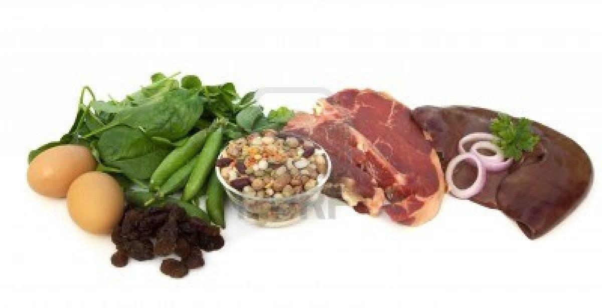 Alimentos ricos en hierro la guia de las vitaminas - Lista de alimentos ricos en hierro ...