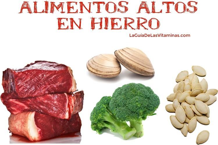 alimentos-altos-en-hierro