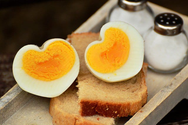 Cuántas calorías tiene un huevo