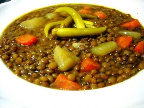 Como hacer lentejas con verduras la gu a de las vitaminas for Cocinar lentejas con verduras