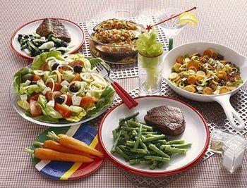 menú de dieta de 1500 calorias