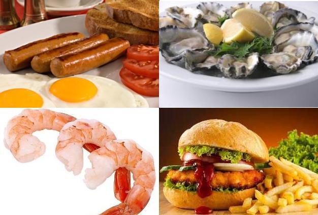 Alimentos ricos en colesterol la gu a de las vitaminas - Alimentos q producen colesterol ...