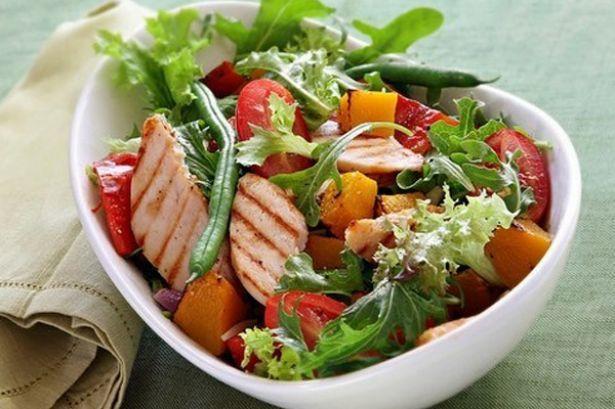 Comida baja en calor as recetas y ejemplos de men la - Ensaladas con pocas calorias ...