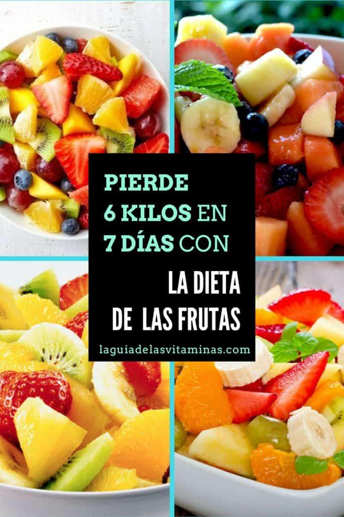 Comer mucha fruta adelgazar