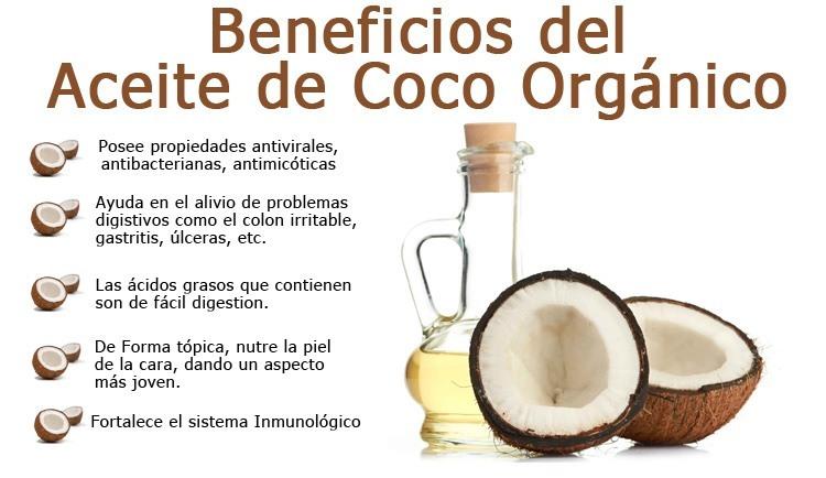 Beneficios de Aceite de Coco Orgánico