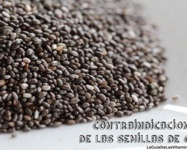 Contraindicaciones de la semilla de chia