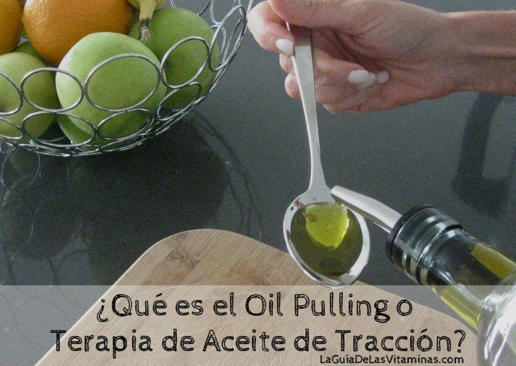 Terapia de Oil Pulling o Enjuagarse con Aceite la boca