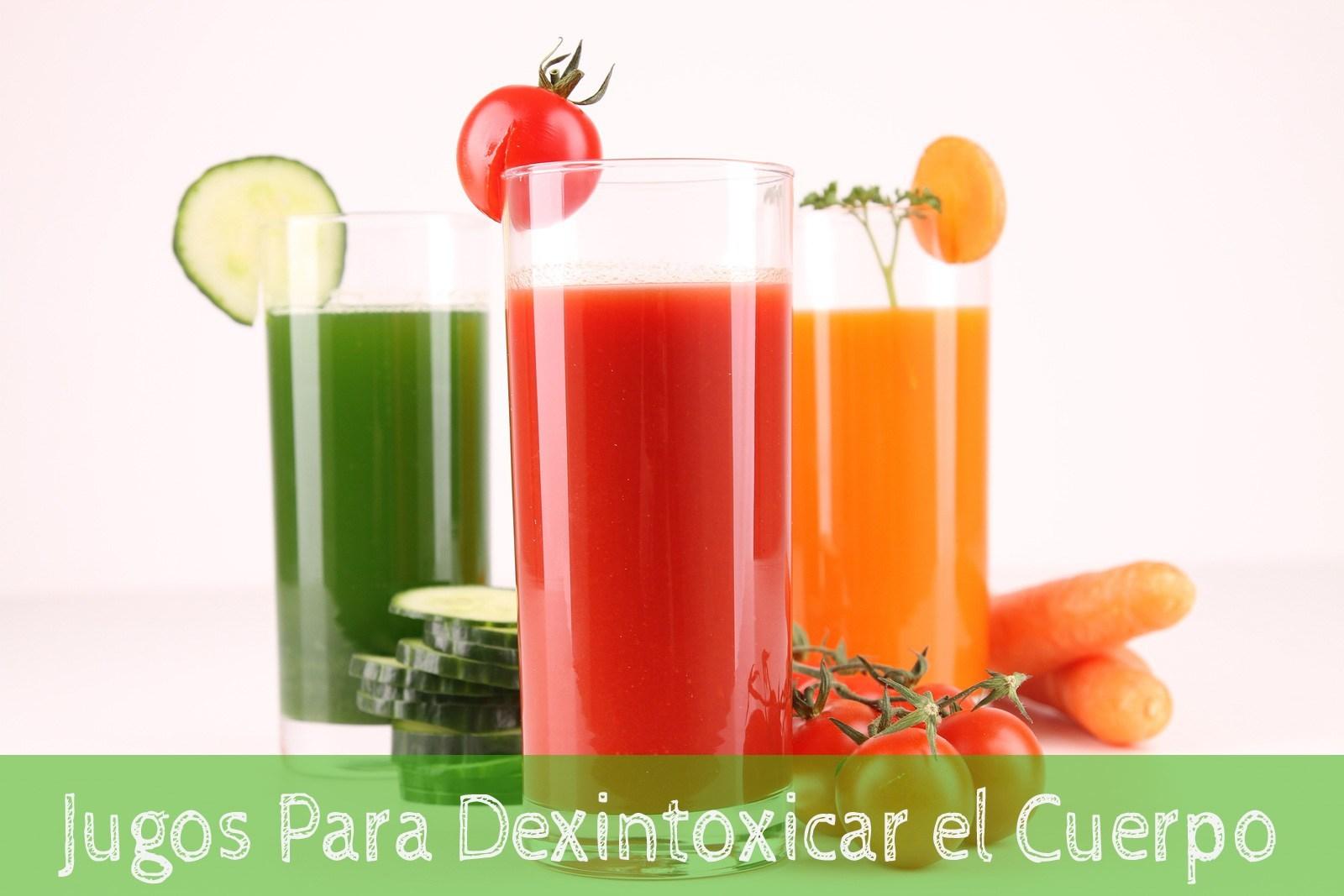 4 Jugos para desintoxicar el cuerpo - La Guía de las Vitaminas