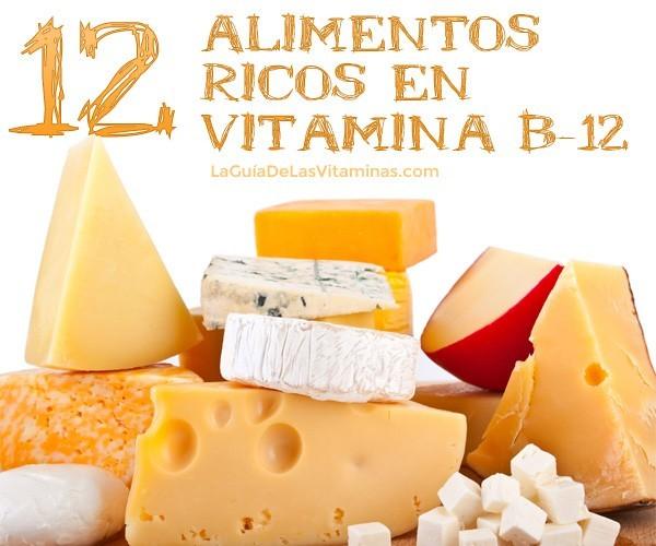 alimentos ricos en vitamin b12