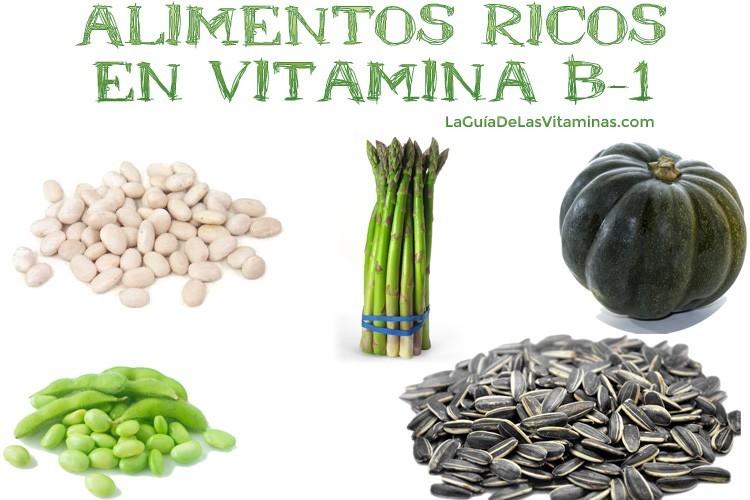 Alimentos ricos en vitamina b1 la gu a de las vitaminas - Alimentos vitaminas b ...