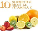 10 Alimentos Ricos en vitamina C