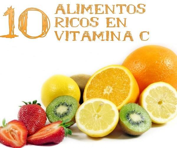 10 alimentos ricos en vitamina c la gu a de las vitaminas - Que alimentos contienen vitamina c ...
