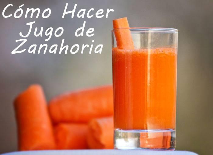 Como hacer jugo de zanahorias la guia de las vitaminas - Como cocinar las alubias ...