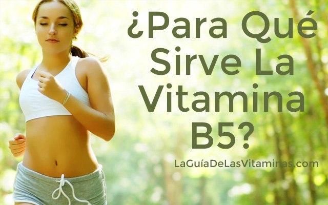 para-que-sirve-la-vitamina-B5