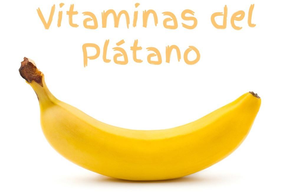 Vitaminas-del-Plátano