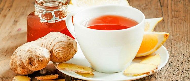 Té de jengibre y limón propiedades