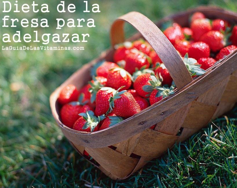 dieta fresa:
