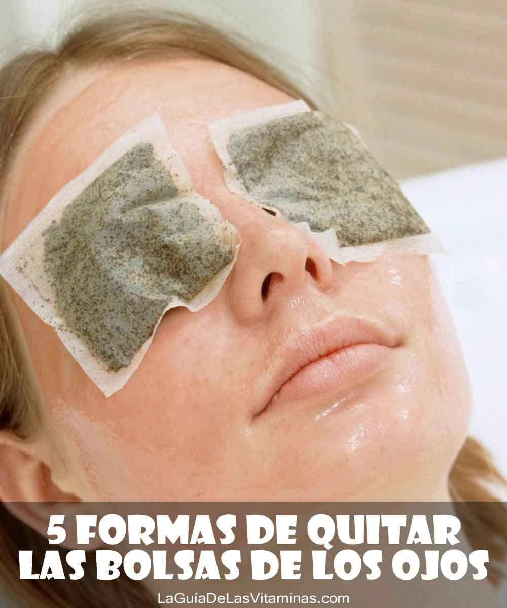 5 formas de quitar las bolsas de los ojos la gu a de las - Como se quitan las manchas de aceite ...