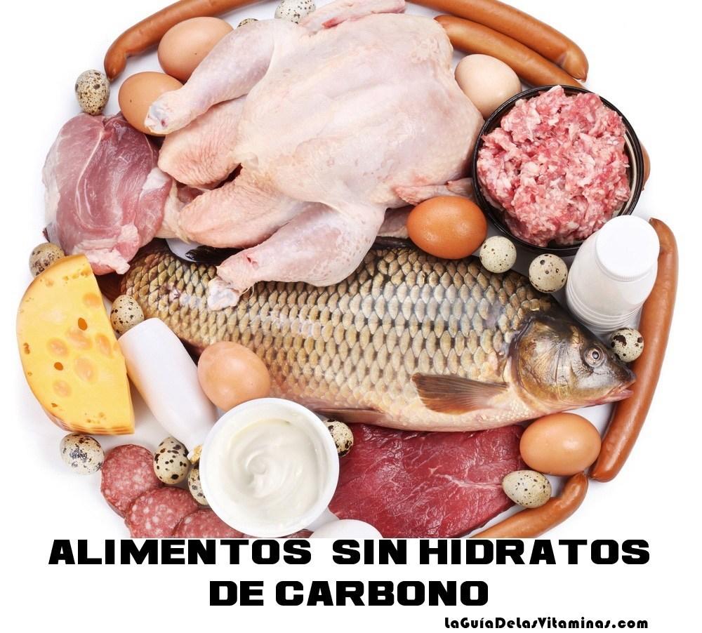 Alimentos sin hidratos de carbono la gu a de las vitaminas - Alimentos hidratos de carbono ...