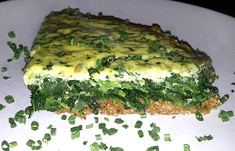 quiche bajo en carbohidratos