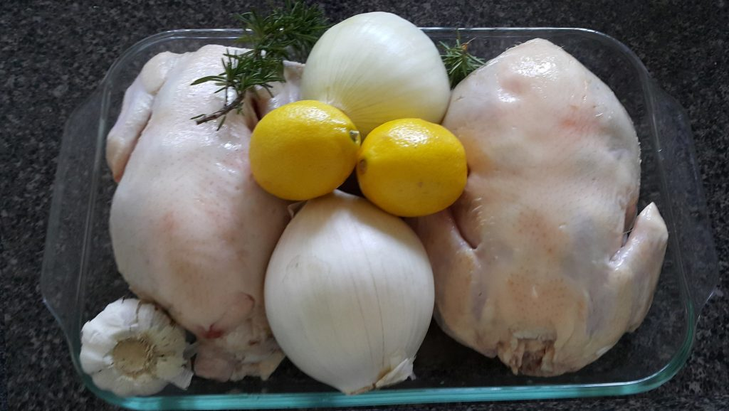 ingredientes-para-pollo-con-limon-y-romero