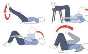 7 ejercicios para adelgazar abdomen