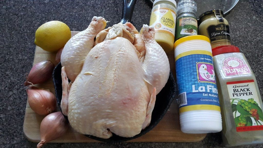 ingredientes-para-pollo-con-estragon