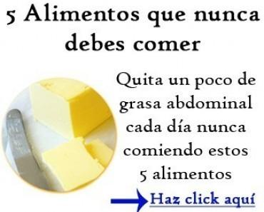 Dieta para perder barriga sin perder peso