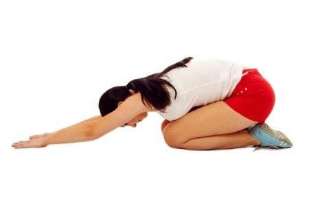 espalda baja-ejercicios de estiramiento
