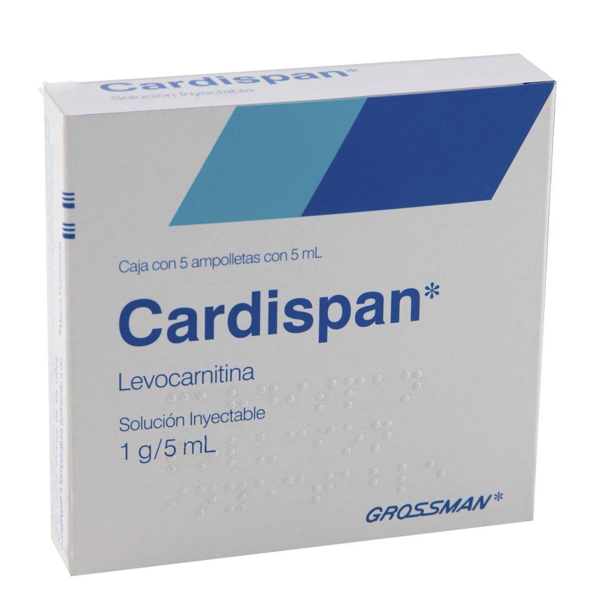 Cardispan (Levocarnitina): ¿Sirve?, beneficios, precio
