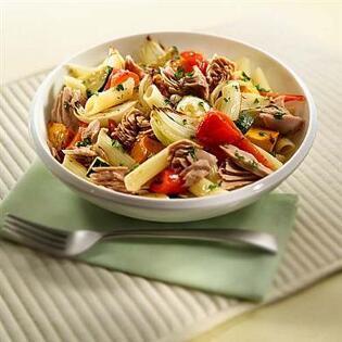 pasta-con-atun-vegetales