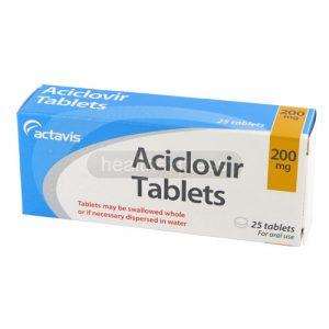 aciclovir tabletas