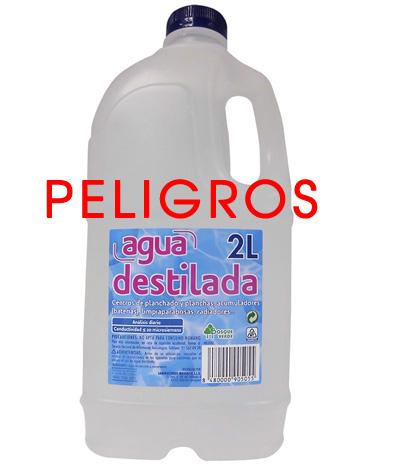 Peligros de beber agua destilada for Que es agua destilada