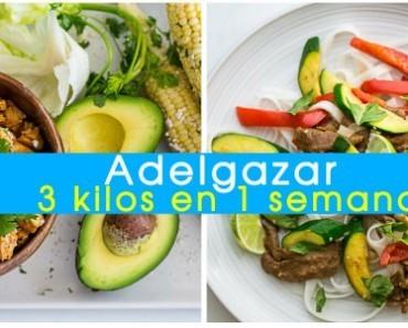 dieta para adelgazar rapido sin pasar hambre