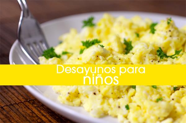 10 Desayunos Saludables Y Rápidos Para Niños
