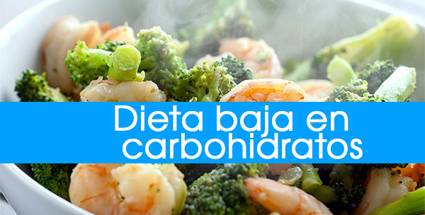Ejemplo De Menú De La Dieta Baja En Carbohidratos, Este..