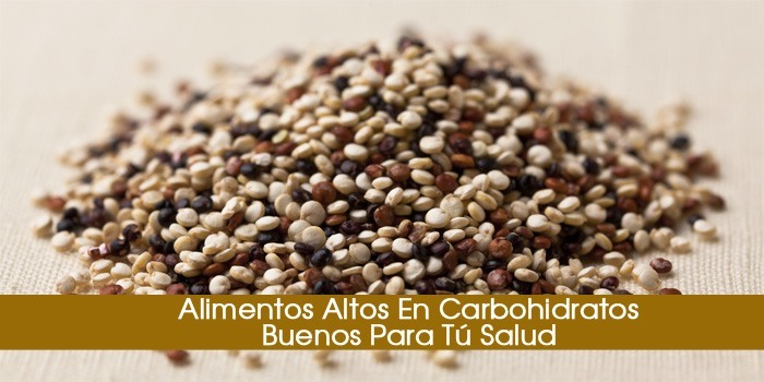 12 alimentos altos en carbohidratos buenos para t salud - Alimentos ricos en carbohidratos ...