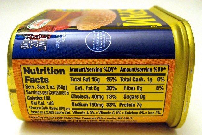 sodio-etiqueta nutrimental