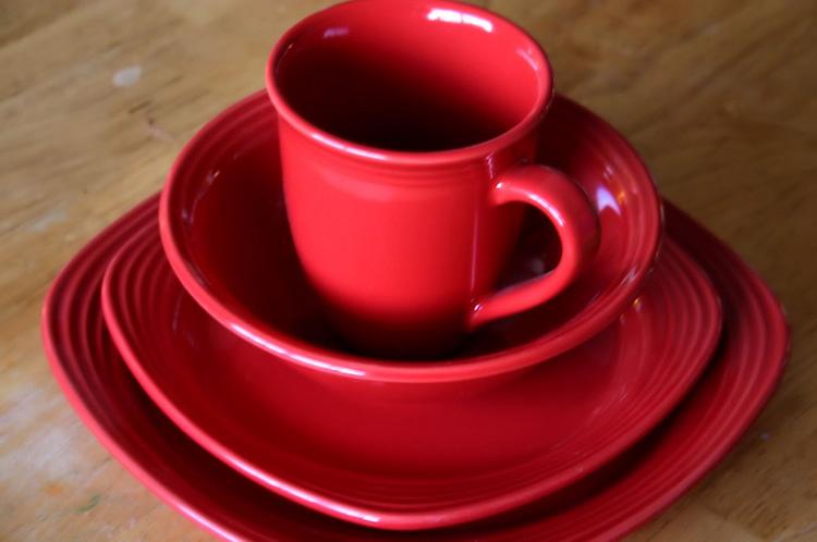 platos-rojos