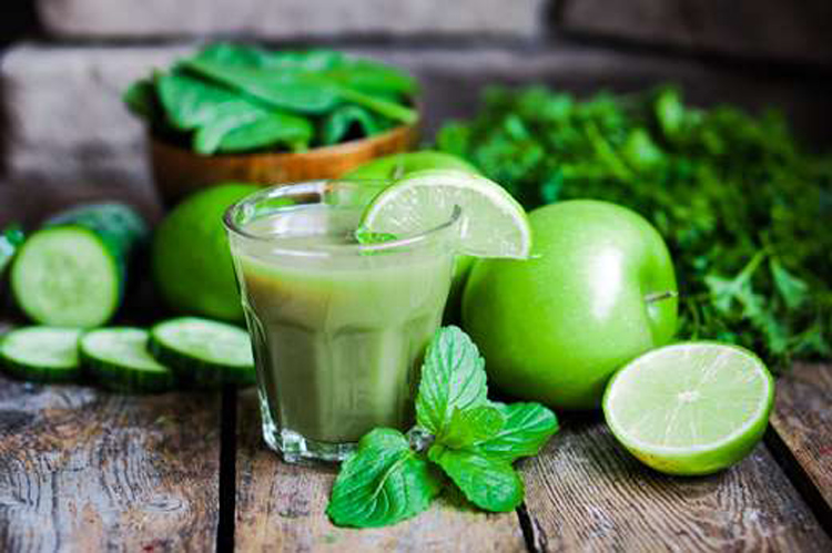 jugo-verde-manzana-menta