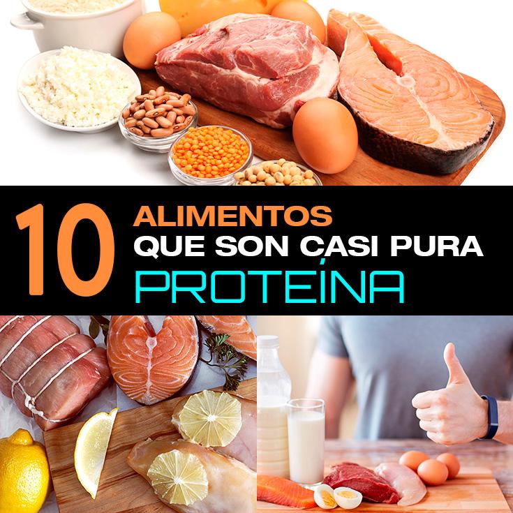 10 alimentos que son casi pura prote na la gu a de las vitaminas - Q alimentos son proteinas ...