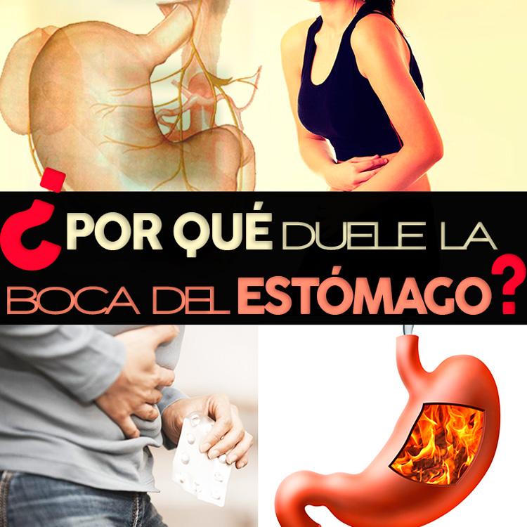 causas del dolor en la boca del estómago