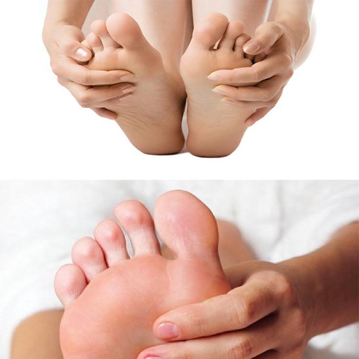 dedos de los pies belleza
