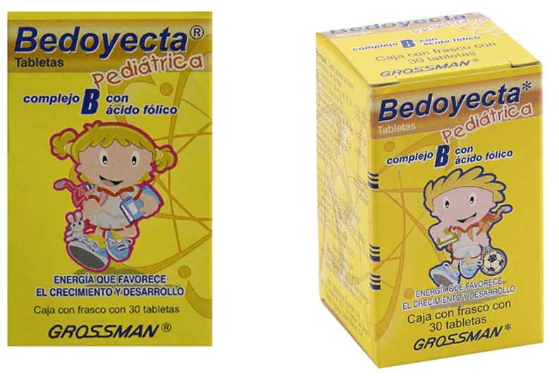 Bedoyecta las engordan vitaminas