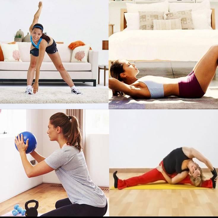 5 ejercicios para ponerse en forma en casa rutina de ejercicios la gu a de las vitaminas - Ponerse en forma en casa ...