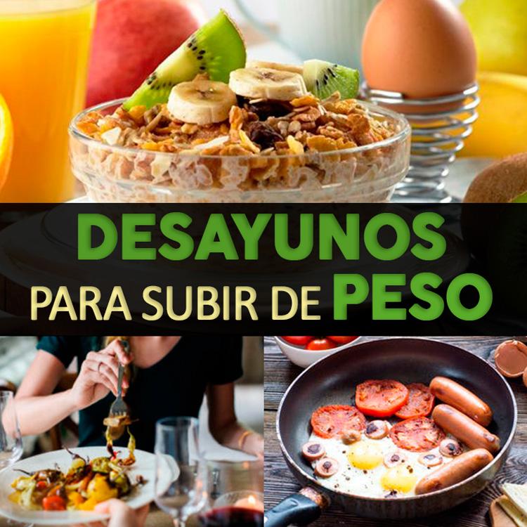 Los 10 Desayunos Más Completos Para Subir De Peso y