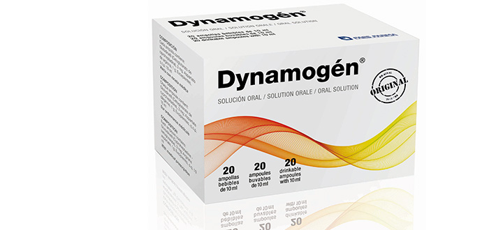Dynamogen for treatment of erectile dysfunction, restores under sexual